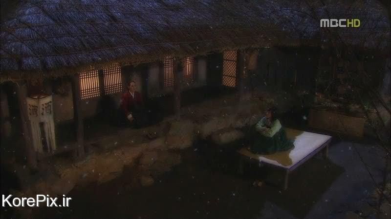 شب برفی در کره جنوبی