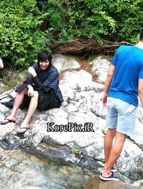 عکس های جالب و دیدنی از پشت صحنه سریال کره ای سرنوشت
