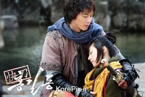 عکس های عاشقانه اینوک و گیل دونگ در سریال قهرمان