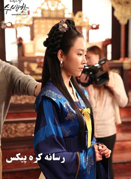 پشت صحنه دختر امپراطور