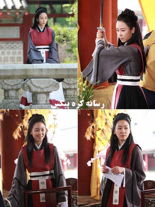 تصاویر دیدنی از سریال کره ای دختر امپراتور