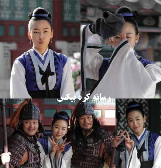عکس های جدید و جالب از پشت صحنه سریال دختر امپراطور