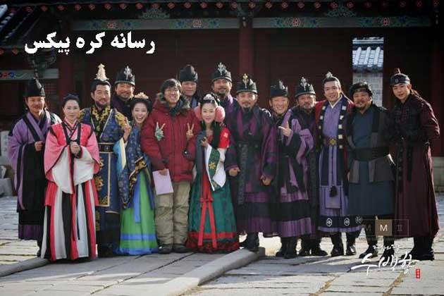 عکس های جدید از پشت صحنه سریال دختر امپراطور