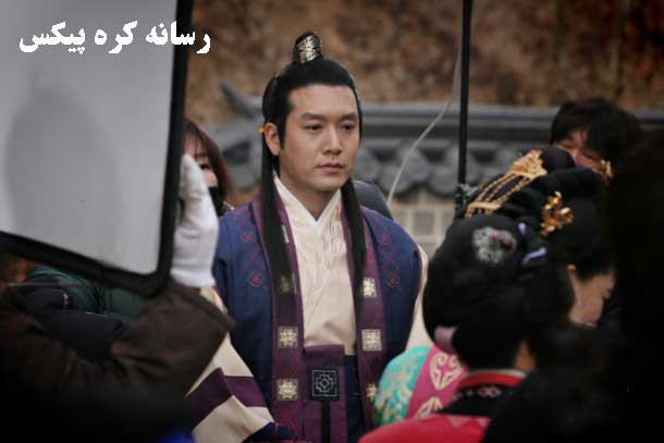 نانگ میانگ در پشت صحنه دختر امپراطور