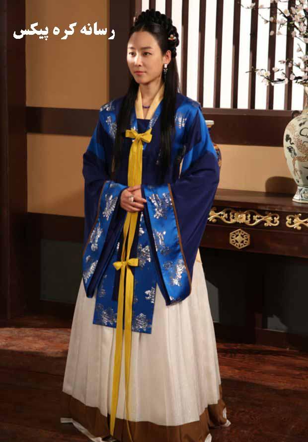 عکس های سو بائک هیانگ سئول نان در سریال دختر امپراطور
