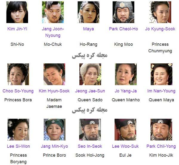 بازیگران سریال رویای فرمانروای بزرگ