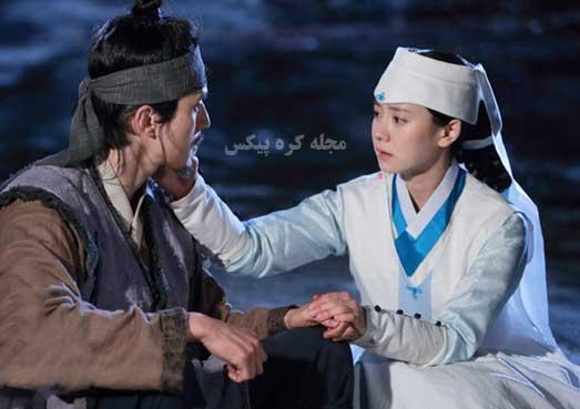 مجموعه عکس عاشقانه سریال کره ای فراری از قصر