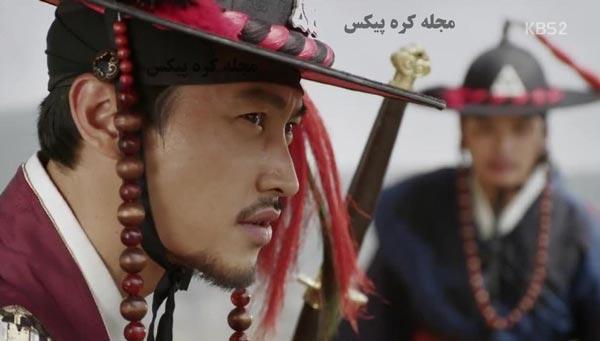 عکس افسر نگهبان سریال کره ای فراری از قصر