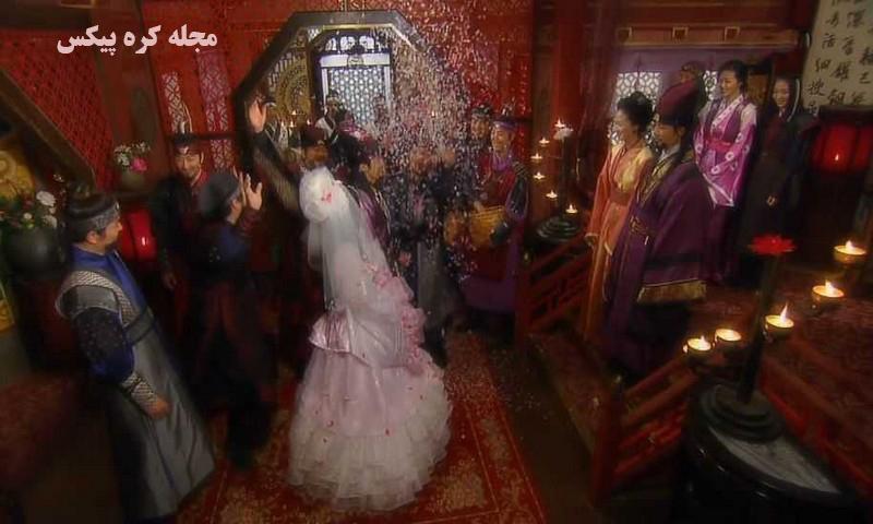 عکس های ازدواج عاشقانه بوبمین و یونهوا در سریال رویای فرمانروای بزرگ