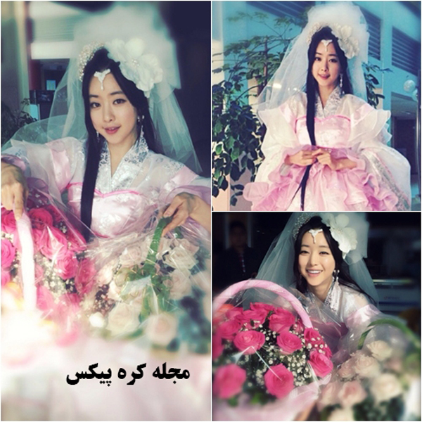 عکس های جدید ازدواج عاشقانه بوبمین و یونهوا در سریال کره ای رویای فرمانروای بزرگ