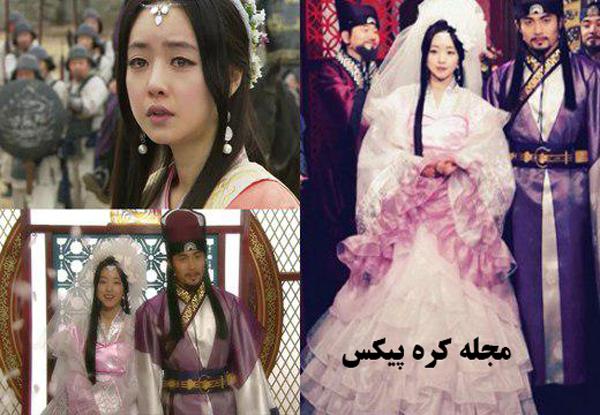 عکس های عاشقانه سریال کره ای رویای فرمانروا