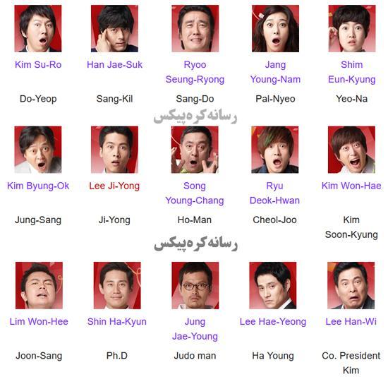 لیست بازیگران کره ای