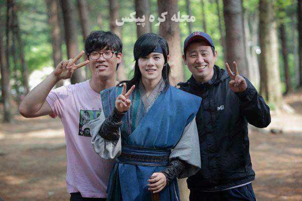 تصاویری از پشت صحنه سریال کره ای فراری از قصر