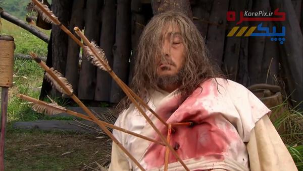 کلیپ سکانس غم انگیز مرگ ژنرال هموسو (پدر جومونگ)