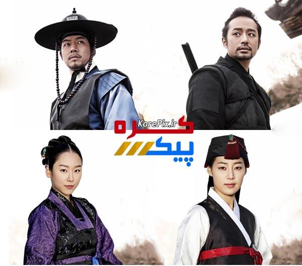 عکس های بازیگران سریال کره ای دو دوست