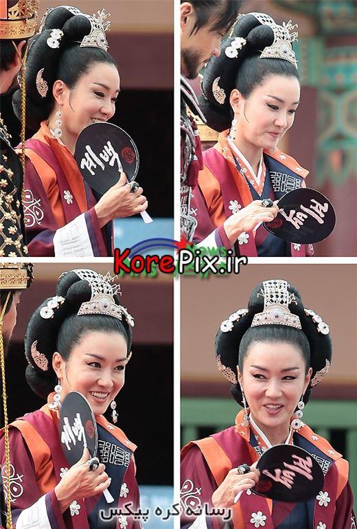 عکس های ملکه سا تک در سریال سرنوشت یک مبارز