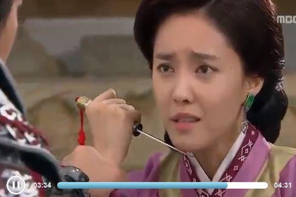 کلیپ خودکشی چویونگ همسر گی بک در سریال سرنوشت یک مبارز