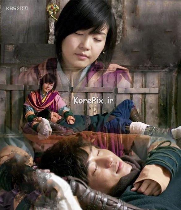 عکس های عاشقانه +15 سریال کره ای قهرمان